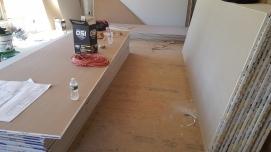 Dry wall prep 2